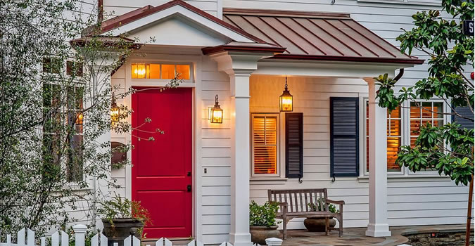 Exterior High Quality Painting Allentown Door painting in Allentown